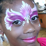 Butterfly Princess Face Painting